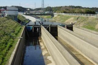 両総用水の各施設(3)南部幹線...