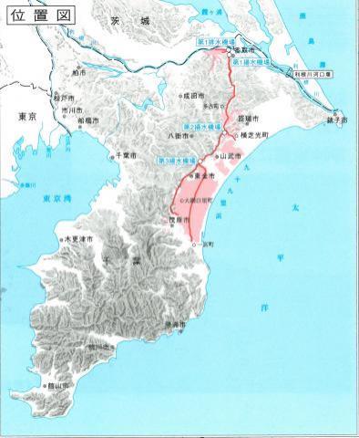 両総用水の各施設紹介/千葉県