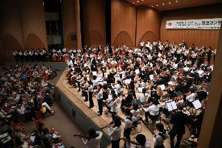 Friendship concert with the Chiba Prefecture Youth Orchestra