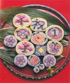 ちばのふるさと料理-太巻き寿司...
