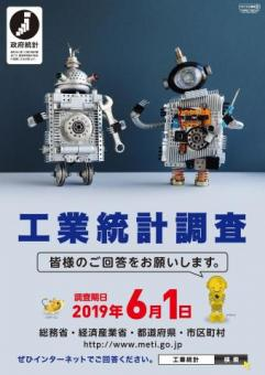 2019年工業統計調査ポスター
